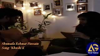 "Amazing Talent of ""Schumaila Rehmat Hussain"" Sing a Song ""Khushi k Pal"" Soulful Voice-Viral video"