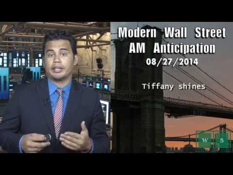 AM Anticipation: Wall Street rises, Tiffany shines, & geopolitics return