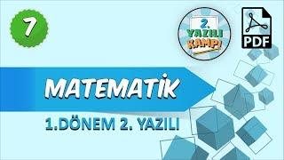 7. Sınıf Matematik   1. Dönem 2.Yazılıya Hazırlık