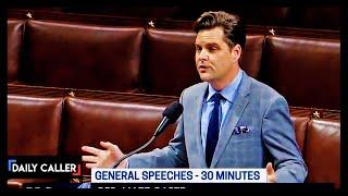 Matt Gaetz Makes Stunning Claim On The House Floor