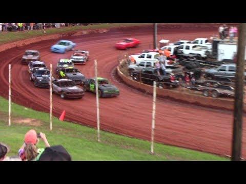 Winder Barrow Speedway Stock Eight Cylinders Race 5/27/17