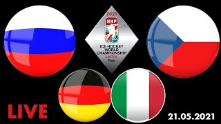 Россия Чехия Германия Италия Чемпионат Мира 2021 Смотрю матчи 21 05 2021