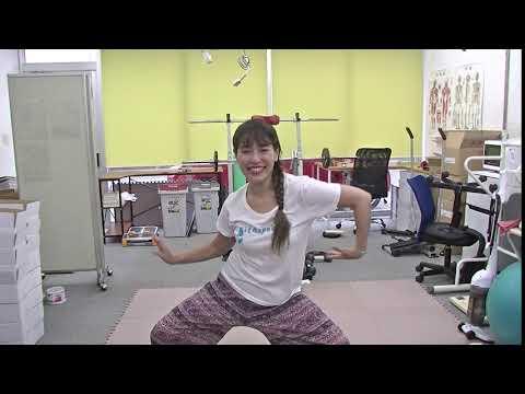 30秒【上下運動付き】タコの体操。ダイエットできる痩せ体操