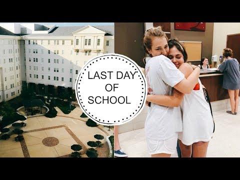 LAST DAY OF SCHOOL | UNIVERSITY OF ALABAMA