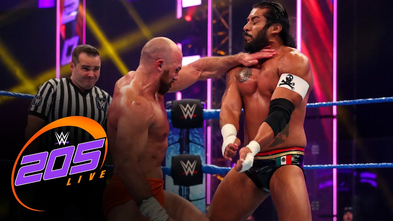 Oney Lorcan vs. Santos Escobar: 205 Live, July 10, 2020