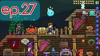 Let's play terraria ep.27 คราฟโล่กันสถานะ ankh shield