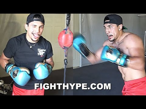 """TEOFIMO LOPEZ EXCLUSIVE LOOK INSIDE """"ENJOY THE SHOW"""" TRAINING CAMP FOR GEORGE KAMBOSOS JR. CLASH"""