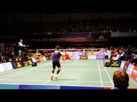 Badminton 2015 SkyCityOpen Finals Qiao Bing vs Lee Hyun Il HD