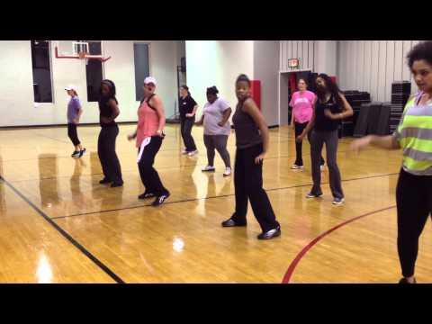 Choreographed Hip Hop w/ Allison Lilly Dowd Y Clt NC 2/13