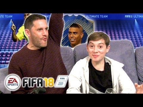 Fifa 18 FUT With Ronaldo Icon - Father And Son Fifa 18 Gameplay