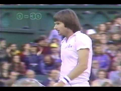 Borg v Connors SF Wimbledon 81 5th set