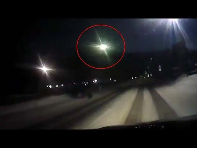 Decenas de personas ven un OVNI estrellándose en Rusia, cerca de Tunguska