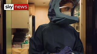 Coronavirus: Rome hospital staff fearing lack of resources