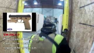Great indoor cqb action. If you like this video please sub to their...