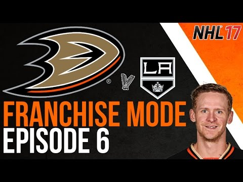 NHL 17 FRANCHISE MODE - Anaheim Ducks Episode 6 - Scorey Perry!