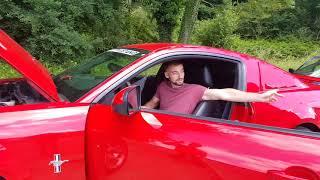 Je démarre une Ford Mustang GT V6 c'est un truc de malade