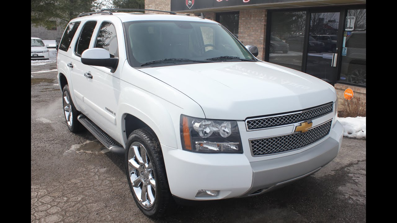 used 2008 chevrolet tahoe lt z71 nav dvd georgetown auto. Black Bedroom Furniture Sets. Home Design Ideas
