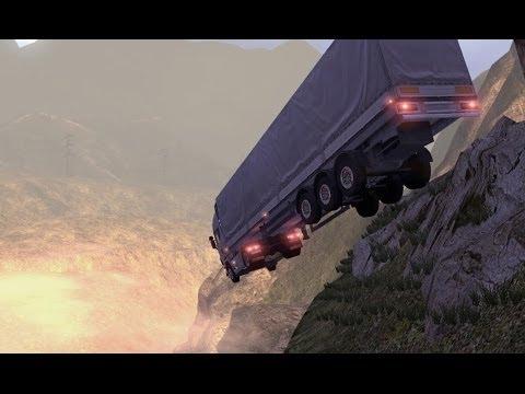 SCANIA Driving Simulator - Road of Death (STDS)