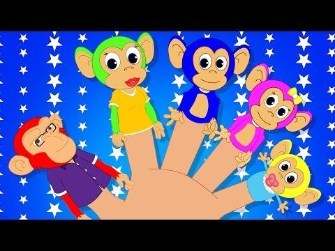 Finger Family | Finger Family Nursery Rhyme | English rhyme