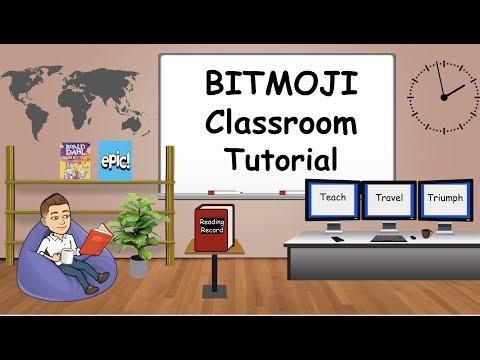 Interactive Bitmoji Classroom Tutorial   Google Classroom and SeeSaw