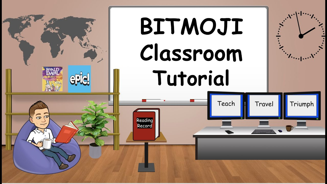 Teachers Are Creating A Virtual Bitmoji Classroom Cute And Helpful Too