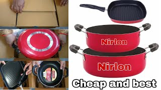 NIRLON Cheap and best Cookware set review 5 star rating product