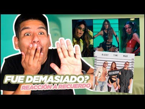 Reacción a Recuerdo de Tini con Mau y Ricky ·Pablo Salazar·