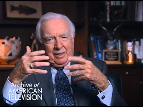 Walter Cronkite discusses interviewing JFK about his Catholicism - EMMYTVLEGENDS.ORG