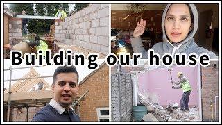 OUR HOUSE BUILDING BEGINS! | VLOG 3 | Amena