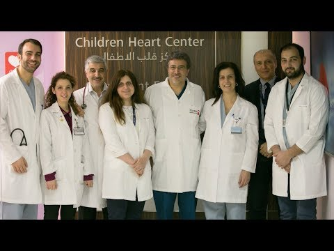 Children's Heart Center team at AUBMC performs a procedure for the first time in the world