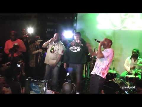 (live) Jungle Brothers - Jimbrowski, @ SOBs 2.7.12