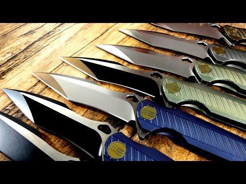 Ein Schwung WE Knives zu Besuch