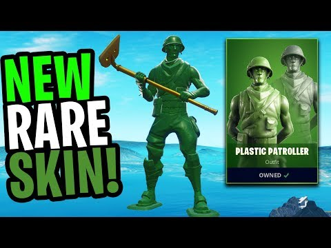 the BEST Skins Fortnite has ever Released! (TOY TROOPER & PLASTIC PATROLLER) from YouTube · Duration:  10 minutes 21 seconds