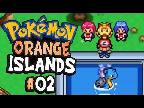 Pokemon Orange Islands Part 2 SAVING LAPRAS - GBA Rom Hack Gameplay Walkthrough