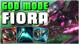 8 SECONDS OF LITERAL GOD MODE?! New Essence Reaver Fiora Gameplay - PBE League of Legends