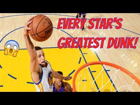 Every NBA Star's Greatest Dunk!