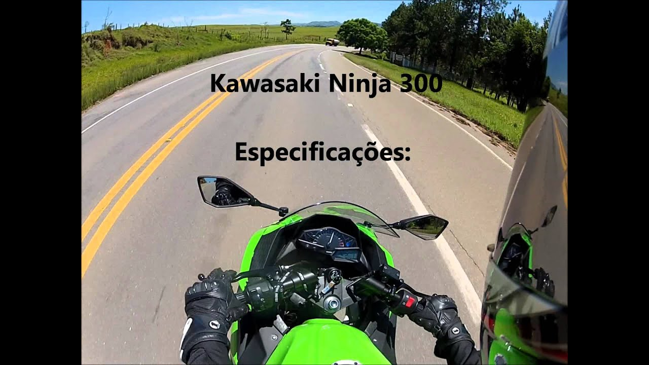Kawasaki Ninja 300 - TOP SPEED (HD) - YouTube