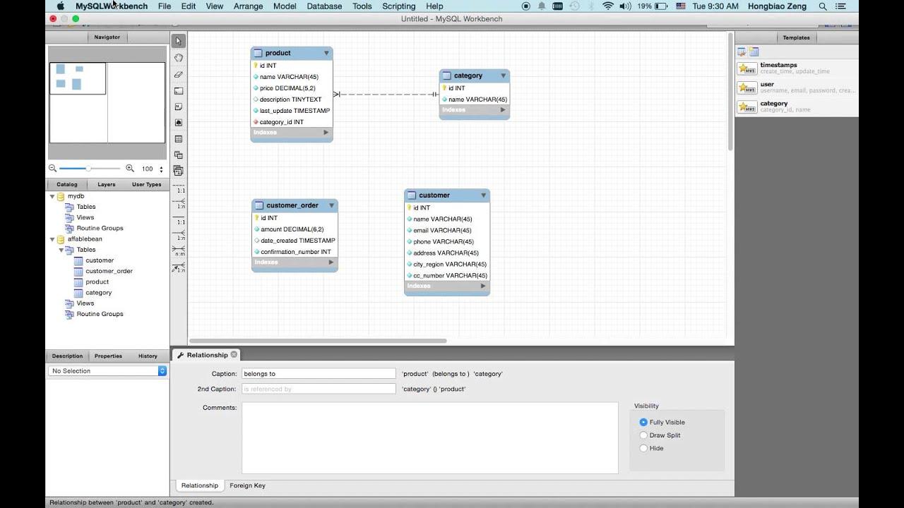 The Netbeans E Commerce Tutorial Unit 4 Designing Data Model