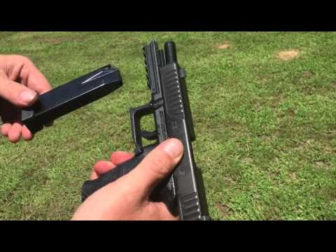 Diamondback FS9 9mm.  Great Inexpensive Range Pistol