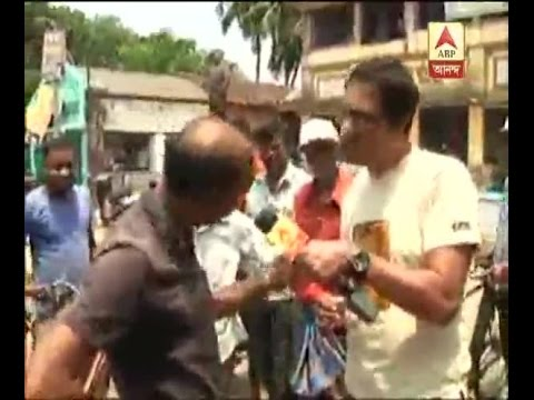 Actor Koushik Sen threatended on camera in Nandigram