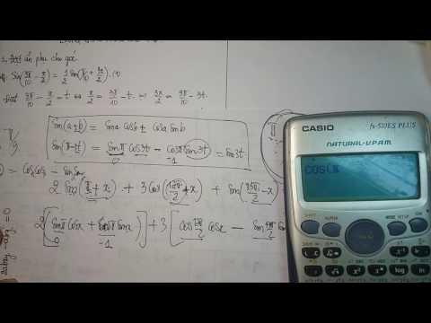 Phương trình LƯỢNG GIÁC NÂNG CAO P1