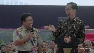 Peresmian Pembukaan Rakornas BNPB dan BPBD Seluruh Indonesia, Surabaya, 2 Februari 2019