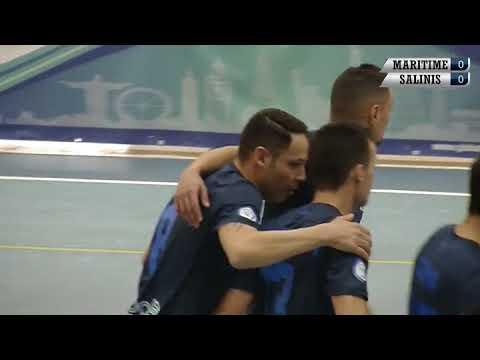 Maritime Augusta Vs Salinis calcio a 5 (primo tempo)