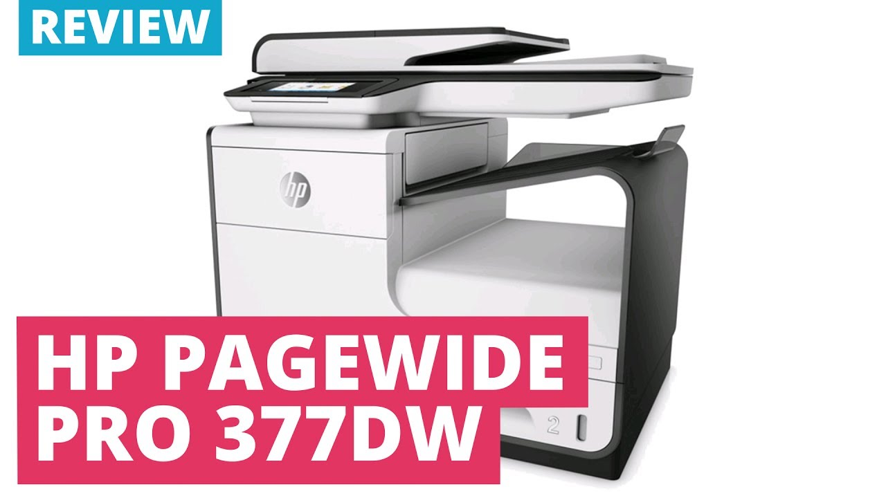 HP PAGEWIDE MFP 377DW WINDOWS 7 DRIVERS DOWNLOAD (2019)