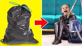 12 CRAZY YET USEFUL HACKS WITH PLASTIC BAGS