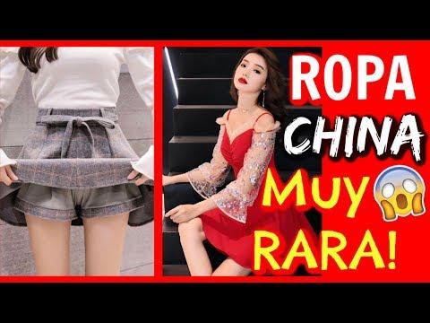 ROPA China de MARCAS MUY RARAS! 😱 - 동영상