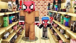 FAKİR OYUNCAK DÜKKANINDAN ALIŞVERİŞ YAPTI! 😱 - Minecraft
