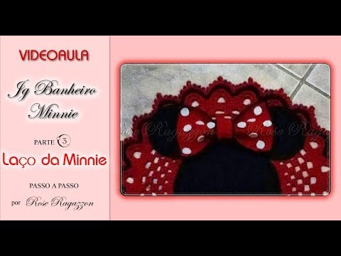 Jg Minnie Tapete Parte 3 Laço Da Minnie Rose Ragazzon Youtube