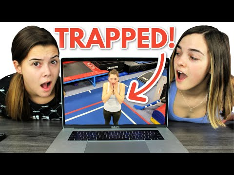 Trapped In The Gym Until We Guess The Gymnastics Skill! (PLAY ALONG)