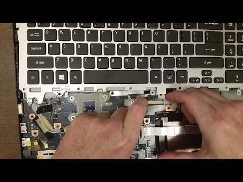 Replacing The Keyboard On A Acer Aspire V3 571G Laptop